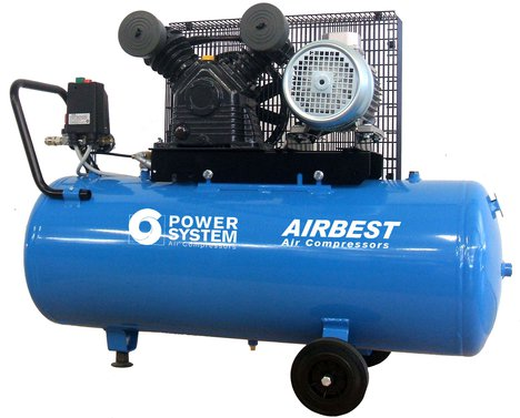 Airbest 50CE stempelkompressor, ny kompressor til salg 7500 kr