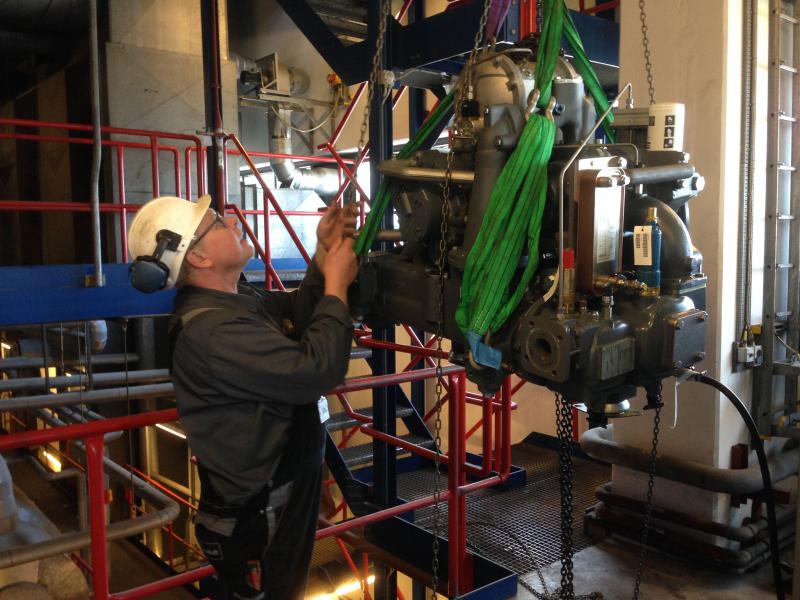 kompressorservice, reparation af kompressor