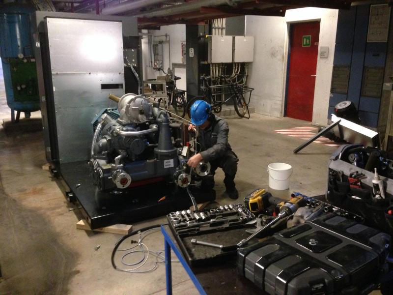 kompressorservice sjælland, reparation af kompressor